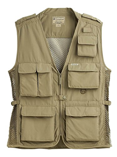 Weekender Traveler Air Travel Vest Khaki Medium