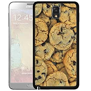 Chocolate Chip Cookies Pattern (Samsung Galaxy Note III 3 N9000) Hard Snap on Phone Case Cover by Maris's Diary