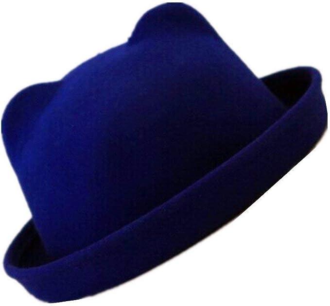 Gorros Elegante Sombrero De Campana para ala Mujer Enrollable ...
