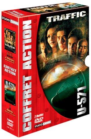 Coffret Action 2 DVD : Traffic / U-571