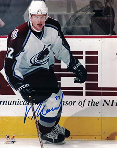 Vaclav Nedorost Autographed/Signed Colorado Avalanche 8x10 Photo PF