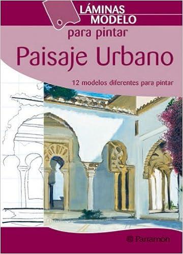 Láminas Modelo Para Pintar Paisaje Urbano Amazones Equipo