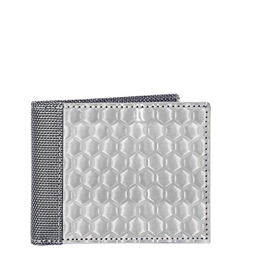 rfid-blocking-stewart-stand-textured-stainless-steel-billfold-wallet