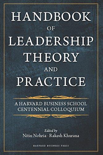 Handbook of Leadership Theory and Practice