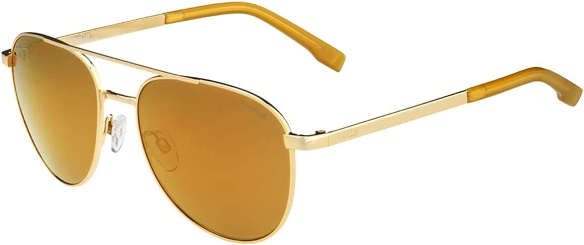 boll/é Evel Sonnenbrillen Shiny Gold Medium Unisex/ Erwachsene