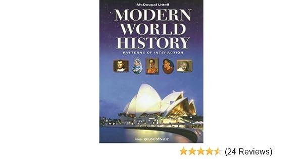Amazon modern world history patterns of interaction student amazon modern world history patterns of interaction student edition 9780618690121 mcdougal littel books fandeluxe Gallery