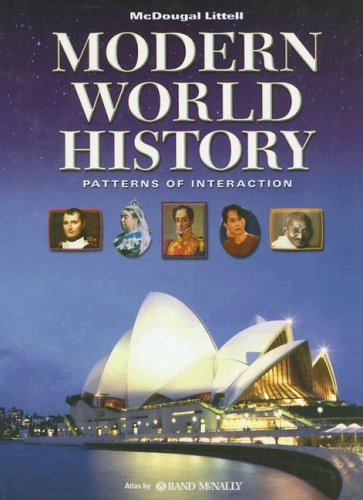 Modern World History: Patterns of Interaction, Student Edition