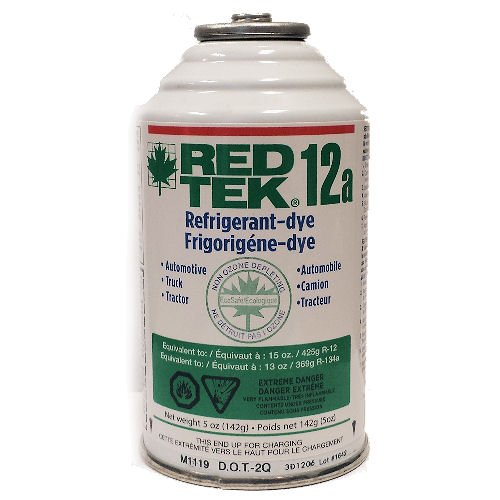Cans RED Refrigerant Freon Replacement product image