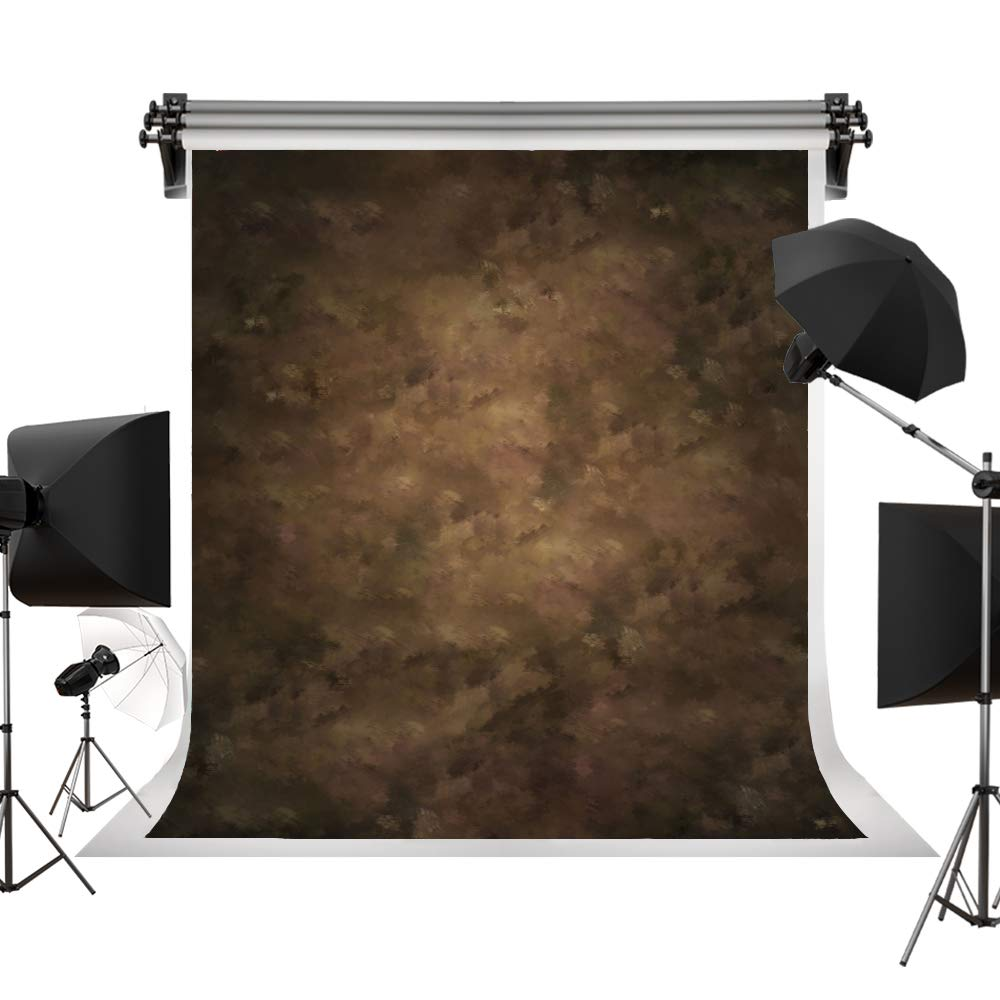 Kate 10x15ft / 3x4.5m Photography Backdrops Retro Solid Brown Background for Photographers Photo Studio Props J04303
