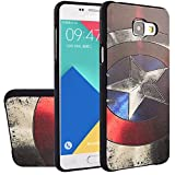 MOONCASE Galaxy A5 (2016) Case, [Captain] 3D Embossed Painting Series Protective Case Cover for Samsung Galaxy A5 (2016) A510F Anti-Slip Soft TPU Gel Case