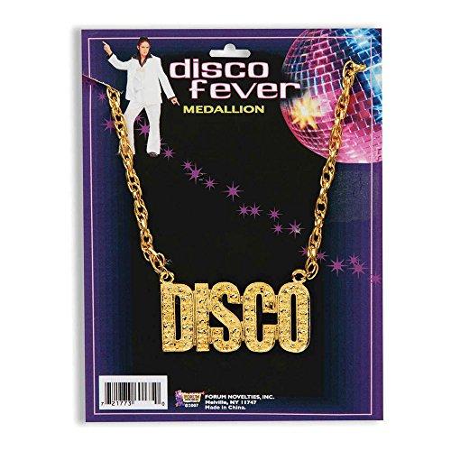 Bristol Novelty BA1081 Disco Necklace, One Size ()
