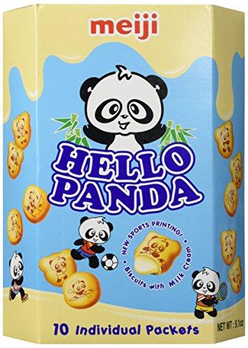 Meiji - Hello Panda Milk Cream Biscuits