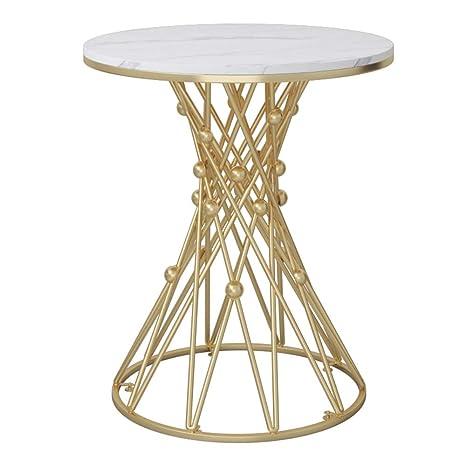 Amazon.com: ZHIRONG - Mesa de café para salón nórdico de ...