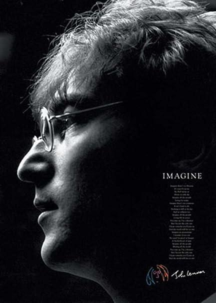 Pyramid America Imagine John Lennon Lyrics Music Poster