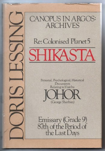 Shikasta Colonised Planet Vintage International