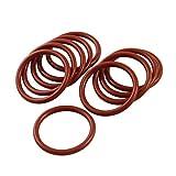 YeVhear 10pcs Industrial Silicone O-Ring 29mm x