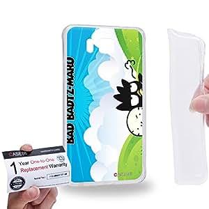 Case88 [Samsung Galaxy Alpha] Gel TPU Carcasa/Funda & Tarjeta de garantía - Bad Badtz-Maru Collection Bad Badtz-Maru Hana-Maru 0642
