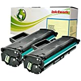 2 Pack Ink4work© MLT-D101S (101) Compatile Toner Cartridge For Samsung ML-2165W, SCX-3400F, SCX-3400FW, SCX-3405FW, SF-760P (2 Pack)