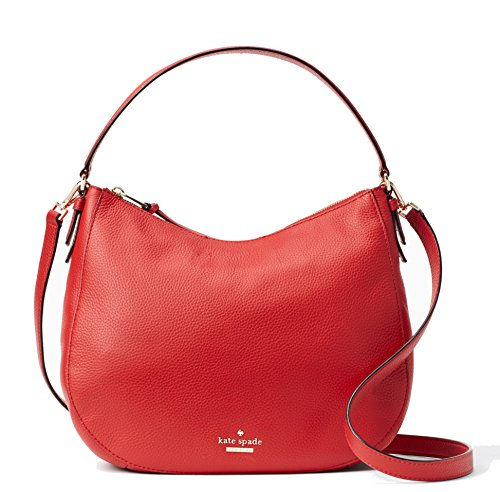 Kate Spade New York Jackson Street Mylie Hobo Red by Kate Spade New York