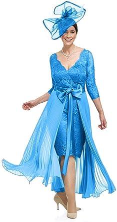 Snow Lotus vestido de novia de encaje para mujer con capa ...