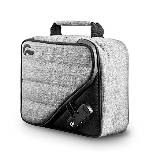 Skunk PILOT Case - Smell Proof - Water Proof - With Combination Lock (Gray)