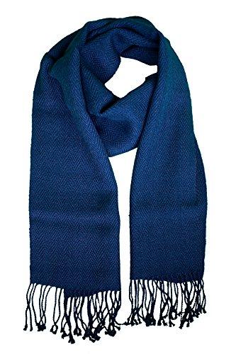 Nomadica Pure Alpaca Fair Trade Scarf (Navy Blue)