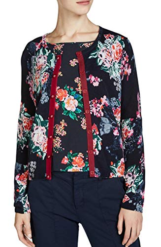 Cardigan Oui Blue Red Dark Donna pdBfdwqC6