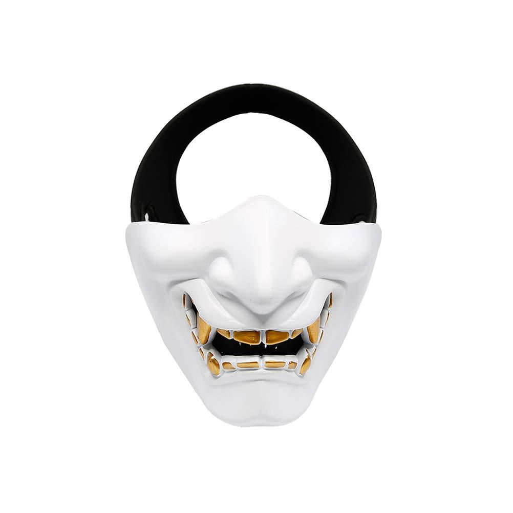 EqWong Máscara de Halloween, decoración de Halloween, máscara de ...