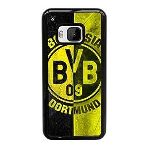 HTC One M9 Custom Cell Phone Case Borussia Dortmund BVB 09 FC Logo Case Cover WQFF68282