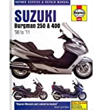 Suzuki AN250 & 400 Burgman Service and Repair Manual: 1998 to 2010 (Haynes Service & Repair Manuals (Hardcover)) (Hardback) - Common