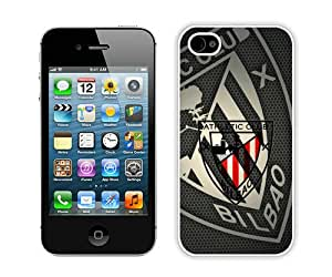 High Quality iPhone 4 4S Case ,Athletic de Bilbao 1 White iPhone 4 4S Cover Unique And Fashion Designed Phone Case