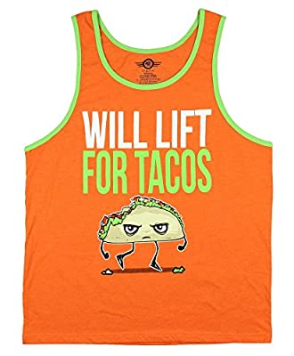Will Lift For Tacos Graphic Tank Top