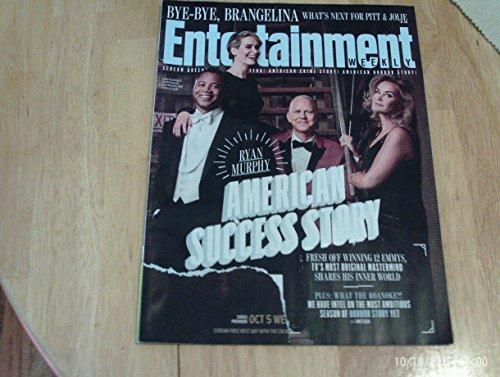 Entertainment Weekly magazine - September 30, 2016 - Ryan Murphy American Success Story / What's Next For Pitt & - Cellars Ryan