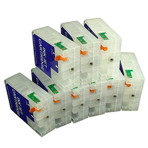 CEYE For EPSON Pro3800 Pro3805 Pro 3800 3805 Empty Refillable Ink Cartridge 80ML 9pcs by CEYE (Image #1)