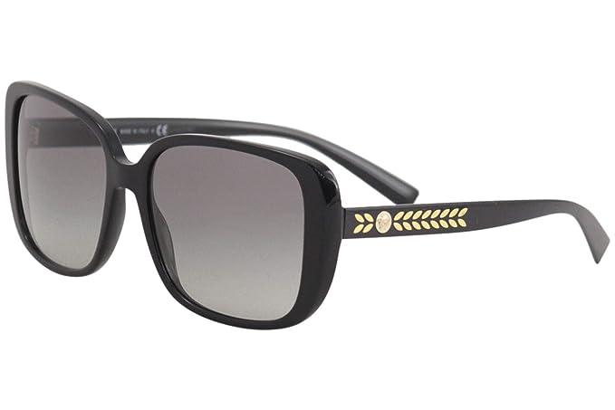 Versace 0VE4357 Gafas de sol, Black, 56 para Mujer