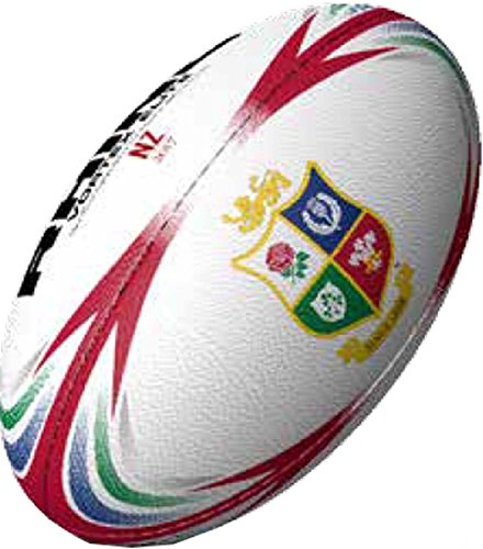 Lion Rugby (Rhino Lions Replica Rugby Ball - Size 5)
