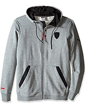 Men's Ferrari Hooded Sweat Jacket
