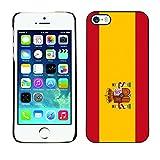 STPlus Spain Spanish Flag Hard Cover Case for Apple iPhone SE / 5 / 5S
