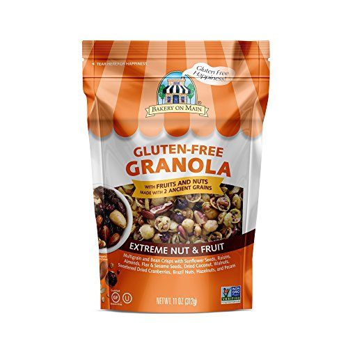 Bakery On Main Gluten Free Non GMO Granola, Extreme Nut & Fruit, 11 Ounce
