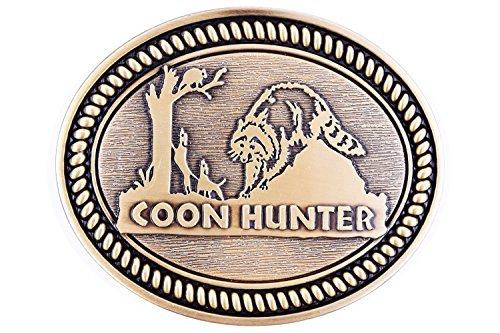Hunter Animal Design Cowboy Belt Buckles