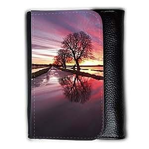 le portefeuille de grands luxe femmes avec beaucoup de compartiments // F00003437 Niveles de Somerset Somerset inundación // Medium Size Wallet