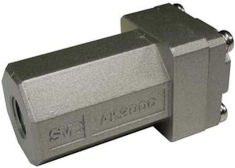 Valve; Check; Body Sz 1//4; Port Sz 1//4NPT.02-1 MPa; Aluminum; Pack of 2 5 to 60 Deg C
