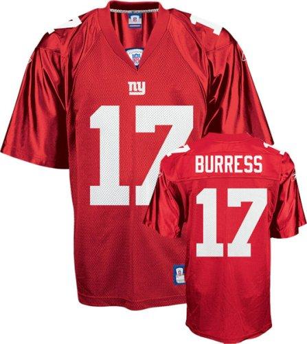 the latest e5b12 cde27 Amazon.com : Plaxico Burress New York Giants Red NFL Replica ...