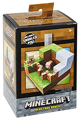 Minecraft Redstone Ranch Environment Playset by Mattel