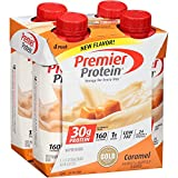 Premier Protein 30g Protein Shakes, Caramel, 11 Fluid Ounces, 24 Count