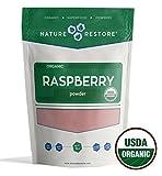 Nature Restore Organic Red Raspberry Powder, Non-GMO (8 ounces)