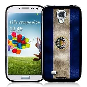 Cool Painting Flag of El Salvador Grunge - Protective Designer BLACK Case - Fits Samsung Galaxy S4 i9500