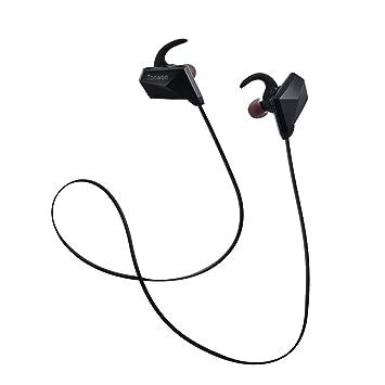 Auriculares Bluetooth, SP6 Bluetooth Estéreo 4.1 Auriculares inalámbricos Audífonos de prueba de sudor, USB