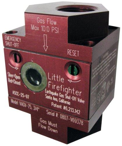 Watts VAGV075 3/4-Inch Earthquake Gas Shutoff Valve ()