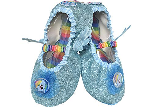 Suit Yourself My Little Pony Rainbow Dash Slipper Shoes for Children, One Size up to Children's Shoe Size 7 to 11 -